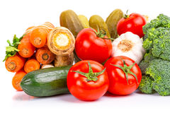 Composition of fresh vegetables Stock Photo