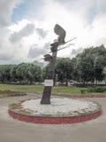 Composition sculpturale - grues image libre de droits