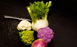 Composition of several vegetables Royalty Free Stock Image