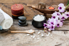 Composition of spa treatment Royalty Free Stock Image