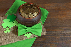 Composition of St. Patrick Stock Photos