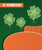 Composition on St. Patricks Day. National colors Royalty Free Stock Photo