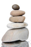 Composition of stacked pebbles Royalty Free Stock Photography
