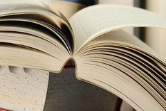 Composition with stacks of books Royalty Free Stock Photo