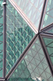 Composition of steel frame architecture Stock Image