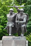 Composition Storm. Memorial to 1200 guards, Kaliningrad, Russia Royalty Free Stock Image