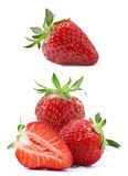 Composition of strawberries Royalty Free Stock Photography