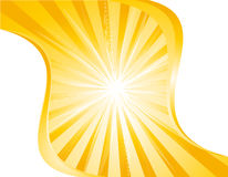 Composition with sun. Illustration of Composition with sunburst Stock Image