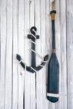 Composition sur le thème marin Photos libres de droits