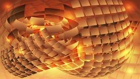 Composition sur un fond jaune lumineux sunlight CCB abstrait illustration stock