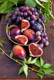 Composition with tasty fruits Royalty Free Stock Images