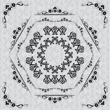 Composition. And textured pattern on the background of the polygon Royalty Free Stock Photo