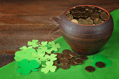 Composition to the day of St. Patrick Stock Images