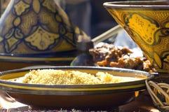 Composition traditionnelle de riz Image libre de droits