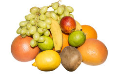 The composition of useful tropical, citrus fruit Stock Photo