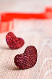 Composition for Valentine's Day stock photo