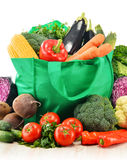 Composition with variety of fresh raw organic vegetables.  Stock Image