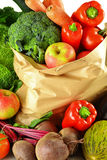 Variety of fresh vegetables Stock Photography