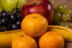 Composition of various fruits Stock Photography