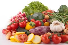 Composition of vegetables Stock Image
