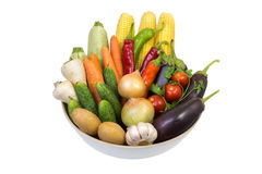 The composition of vegetables. Royalty Free Stock Photography