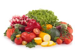 Composition of vegetables Royalty Free Stock Photography