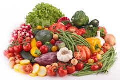 Composition of vegetables Royalty Free Stock Images