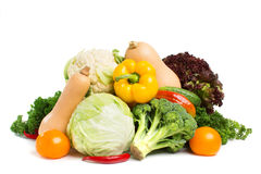 Composition with vegetables  Royalty Free Stock Images