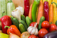 The composition of vegetables. Royalty Free Stock Photo