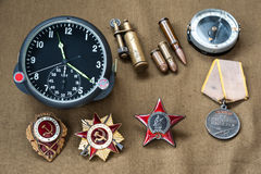Composition of Victory Day Stock Photo