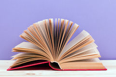 Composition with vintage old hardback books, diary Royalty Free Stock Photography