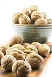 Composition of walnuts Royalty Free Stock Photography