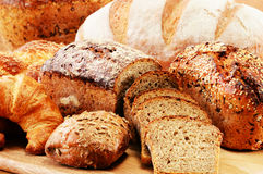 Free Composition With Bread And Rolls Stock Photos - 39531123