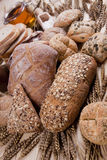 Compositions bread Royalty Free Stock Photos
