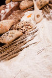 Compositions bread Royalty Free Stock Photography