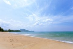 compositions of scenery tropical sea beautiful nature for background and summer design. royalty free stock photos