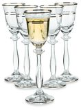 Compositon des verres à vin photos stock