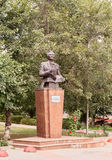 Compositor de Uyghur do monumento e professor Quddus Kuzhamyarovu almaty Foto de Stock Royalty Free