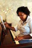 Compositor del afroamericano Imagen de archivo libre de regalías