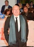 Compositor Hans Zimmer na premier do ` das viúvas do ` em Toronto imagens de stock royalty free