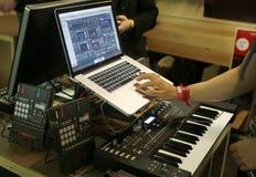 Compositore 010 di musica immagini stock libere da diritti