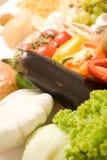 Composizione 4 nel particolare delle derrate alimentari Fotografie Stock