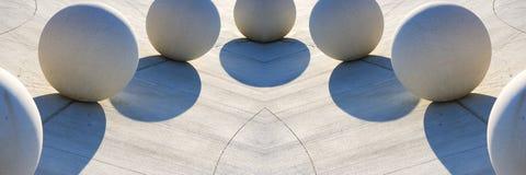 Composizione architettonica Fotografie Stock