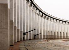 Composizione architettonica colonnade immagini stock