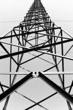 Composizione astratta in bianco e nero fotografia stock