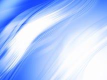 Composizione astratta blu Fotografia Stock