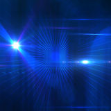 Composizione astratta blu Immagine Stock Libera da Diritti