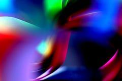 Composizione astratta libera dei colori Fotografia Stock