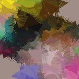 Composizione astratta nel fondo, con i colpi Fotografia Stock
