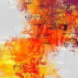 Composizione astratta nel Typo Immagine Stock
